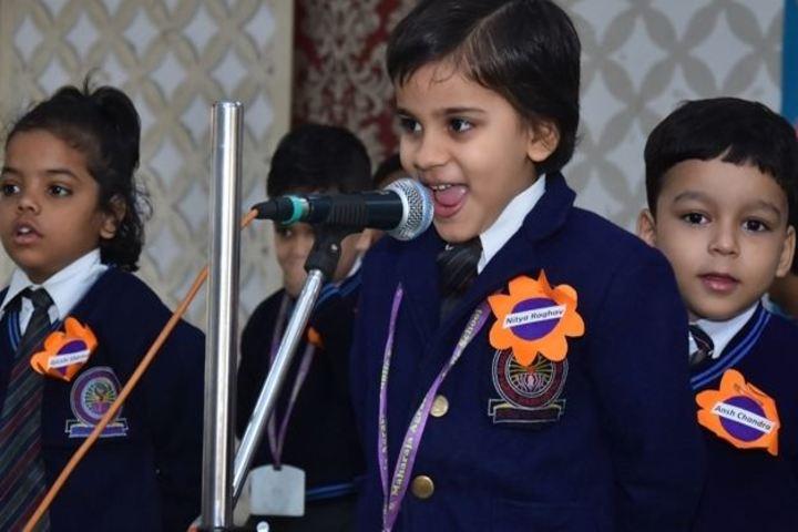 Maharaja Agrasen Public School-Singing Event