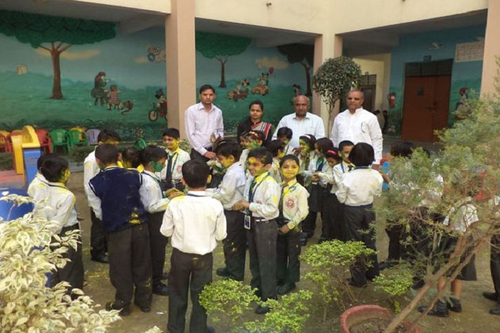 Maharaja Surajmal Public School-Holi Celebrations