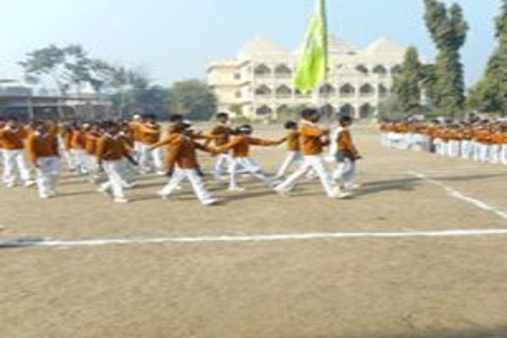 Maharishi Vidya Mandir-March Past