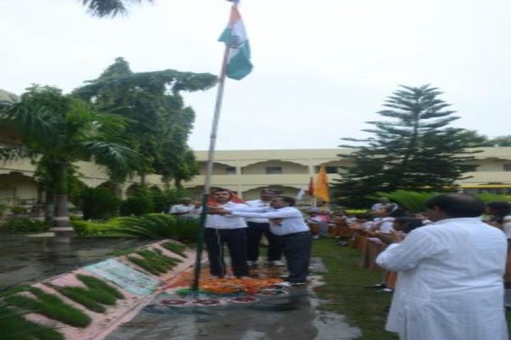 Maharishi Vidya Mandir-Flag-Hosting