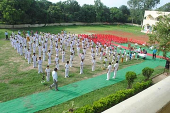 Maharishi Vidya Mandir-Morning-Assembly