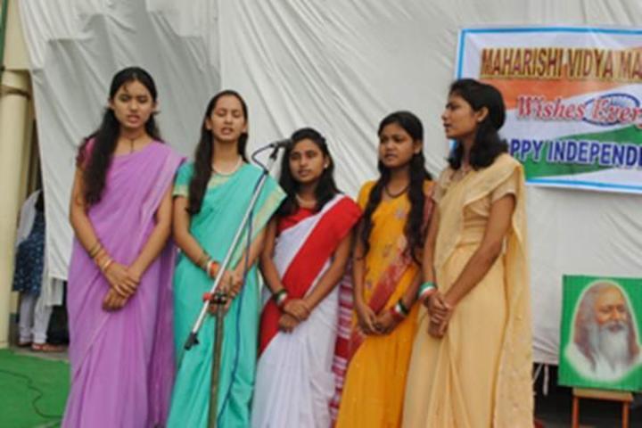 Maharishi Vidya Mandir-Singing