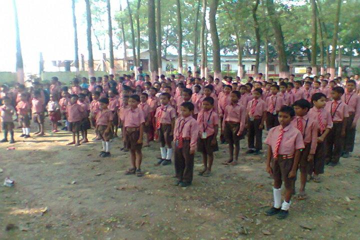 Sutara Mehi Mission School-Morning Assembly