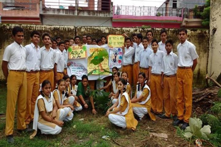 Maharishi Vidya Mandir-Tree Plantation