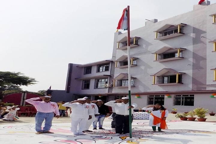 Swami Vivekanand Public School-Flag Host