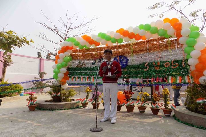 Swami Vivekanand Public School-Speech