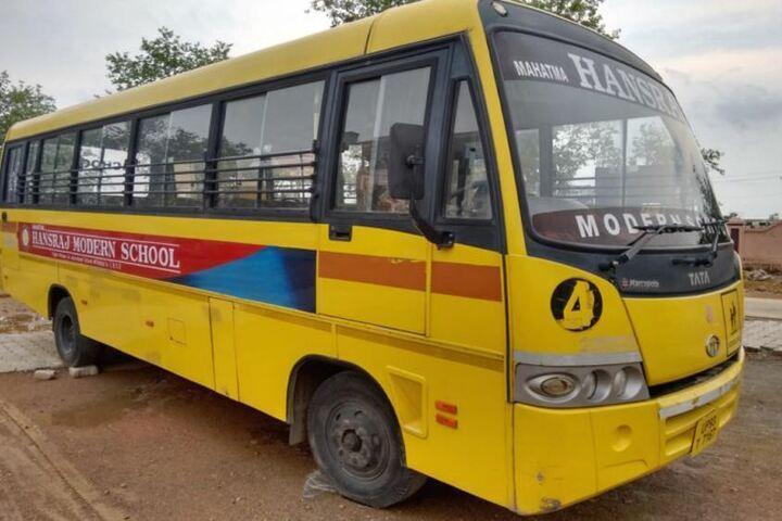 Mahatma Hansraj Modern School-Transport