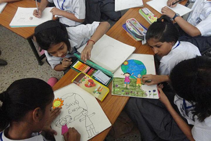 Mahatma J F Public School-Art room
