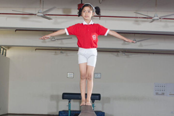 Mahatma J F Public School-Gymnasium