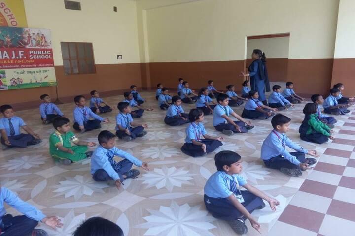 Mahatma J F Public School-Yoga