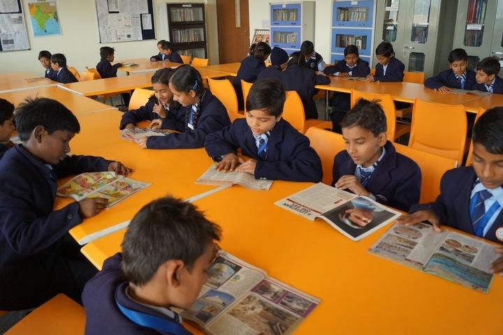Mahi International School-Library