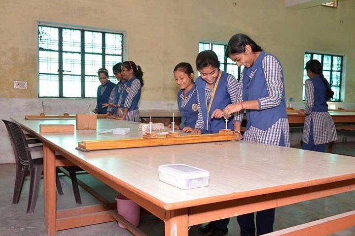 Manas Convent School-Physics lab