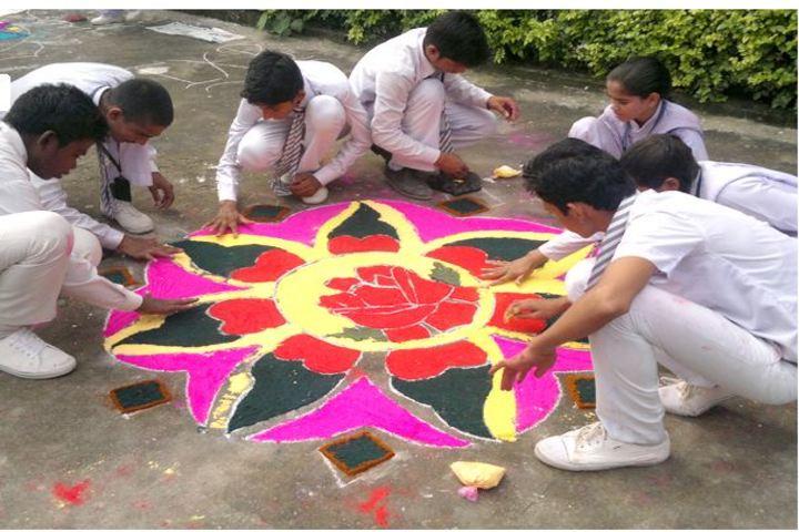 Manasthali Education Centre-Rangoli event