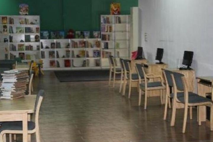 Manav Rachna International School-Library
