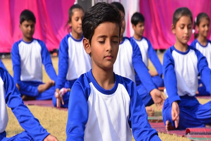 Manipal Public School-Yoga Activity