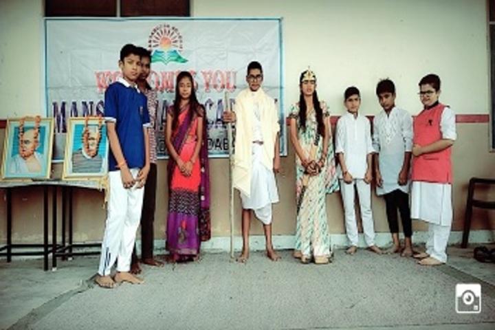 Mansarover Academy-Gandhi Jayanti