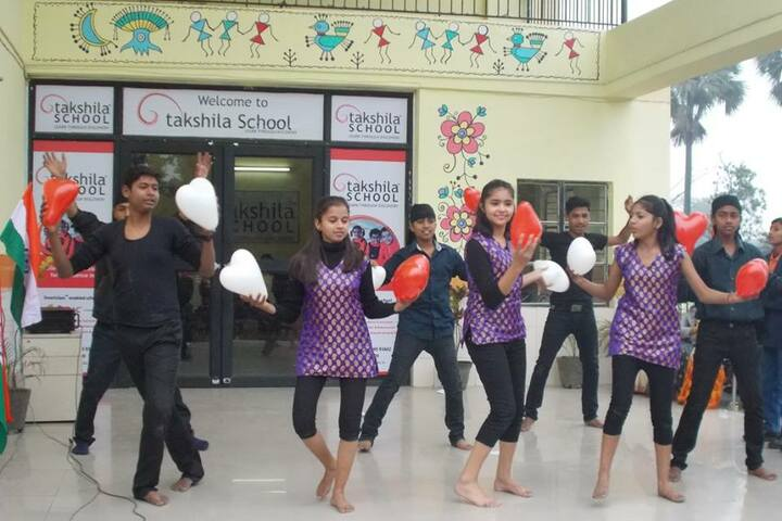 Takshila School-Dancing Activity
