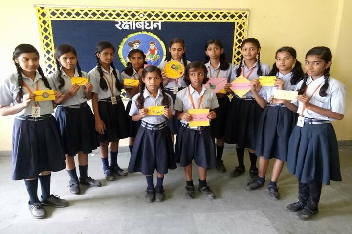 Takshila School-Rakhi Making Activity