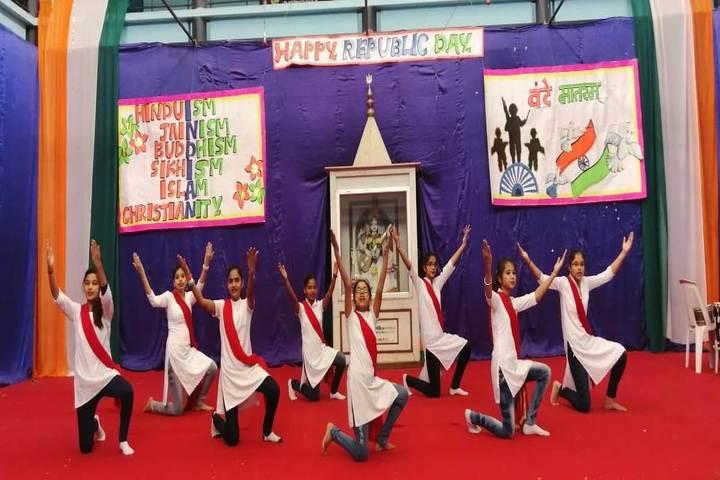 Mantora Public School-Republic day