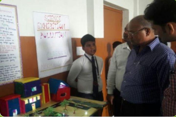 Map Public School-Science Exhibition