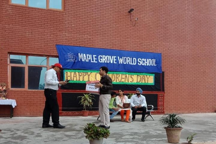 Maple Grove World School-Childrens Day