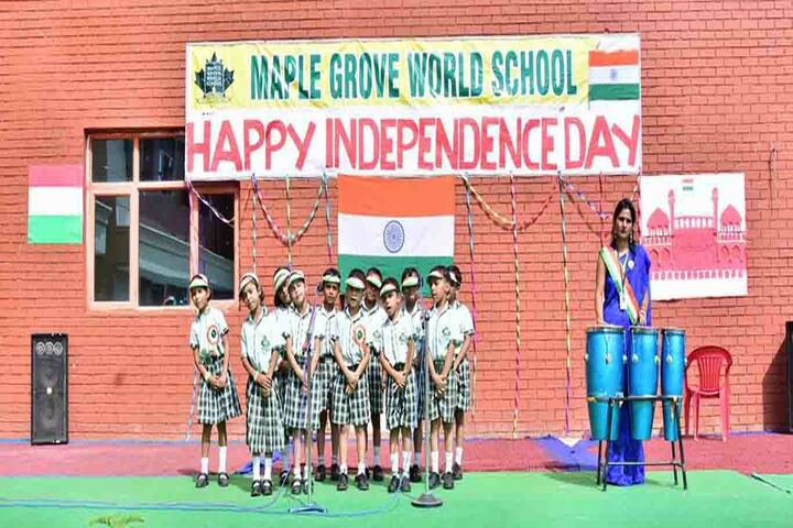 Maple Grove World School-Idependence Day