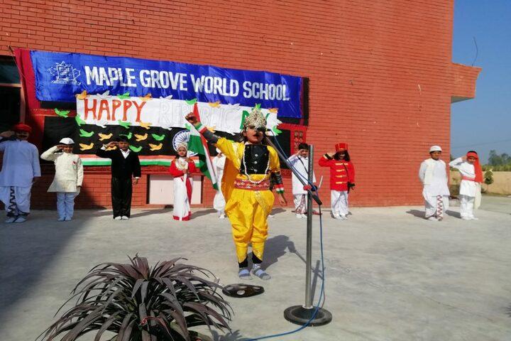 Maple Grove World School-Republic Day