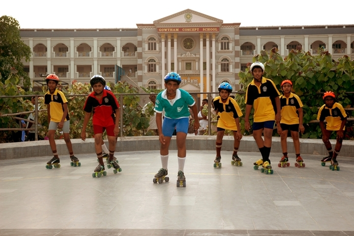 Dr Kkrs Gowtham School-Skating