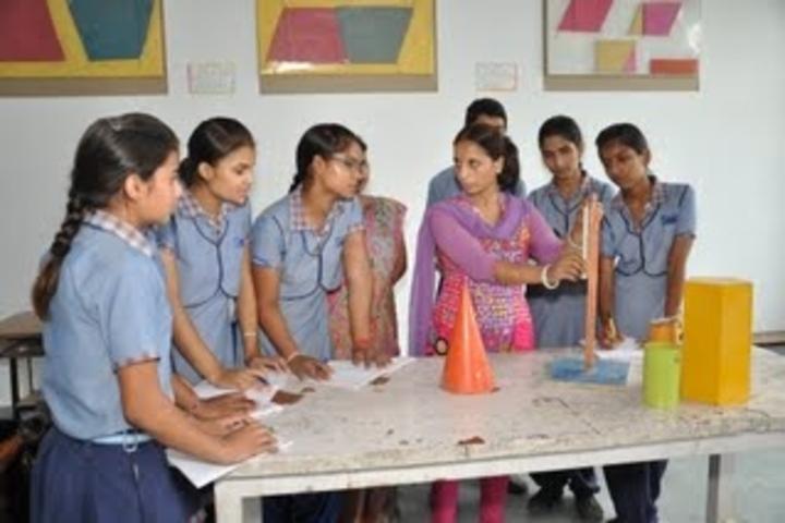 Marigold Public School-Mathematics lab