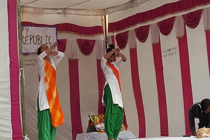 Mata Imarti Devi Public School-Republic day