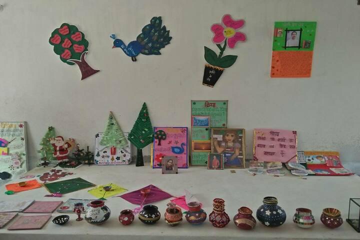Maxfort World School-Arts And Crafts