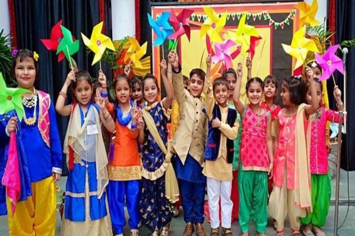 Meerut Public Girls School-Baisakhi Celebrations