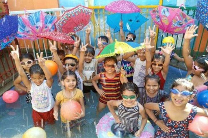 Meerut Public Girls School-Water Splash