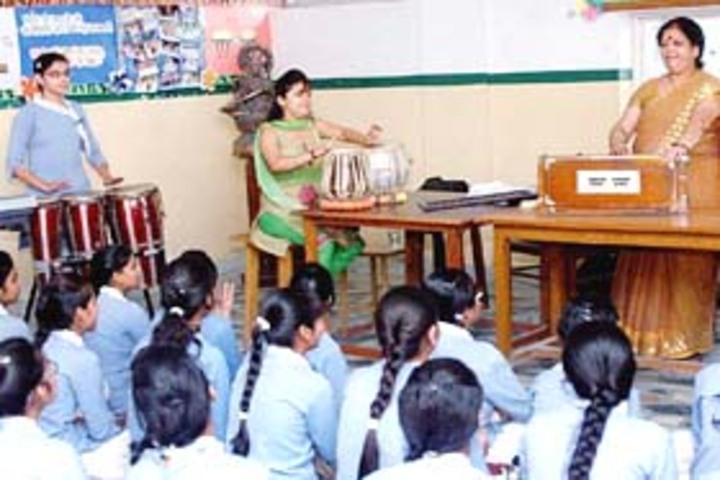 Meerut Public Girls School-Music room