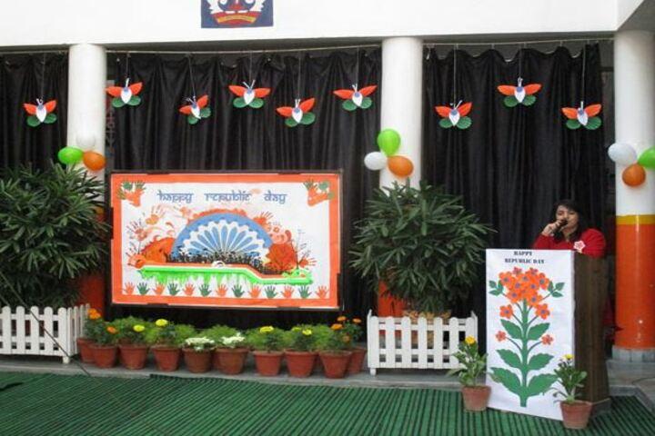 Meerut Public Girls School-Republic day