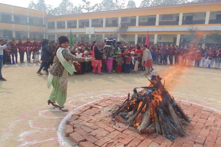 Milton Educational Academy-Lohri Celebrations