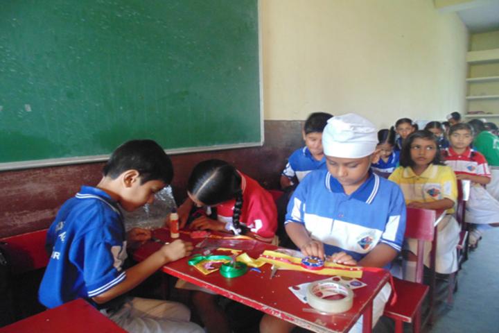 Milton Educational Academy-Rakhi Making