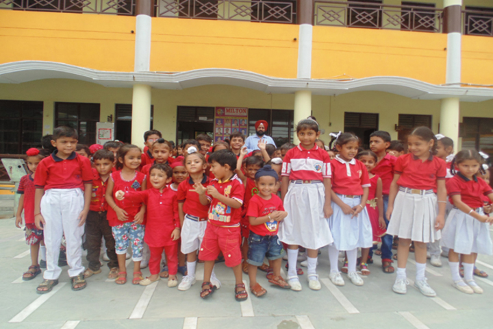 Milton Educational Academy-Red day