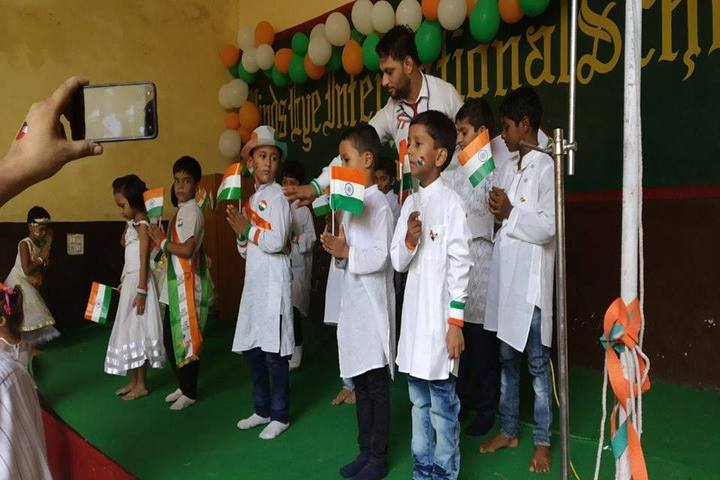 Minds Eye International School-Independence Day