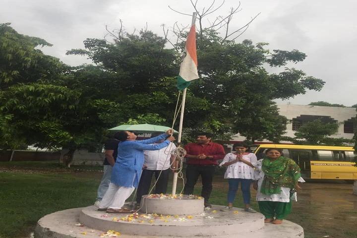 Minerva Public School-Flag Hosting