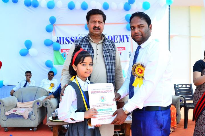 Mission Academy-Certificate