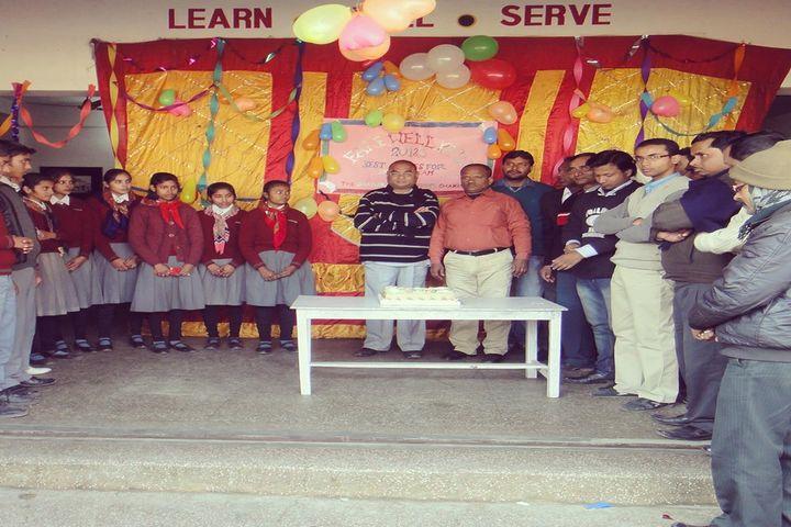 The Chandrasheel School-Birthday Celabration