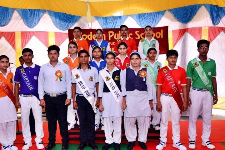 Modern Public School-Investiture Ceremony