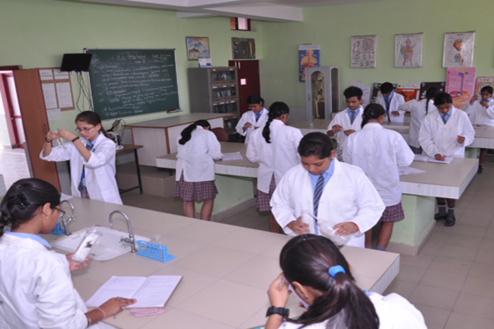 Modern School-Biology lab