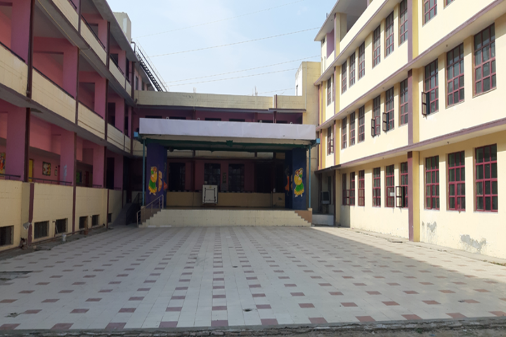 Modern School-Campus View