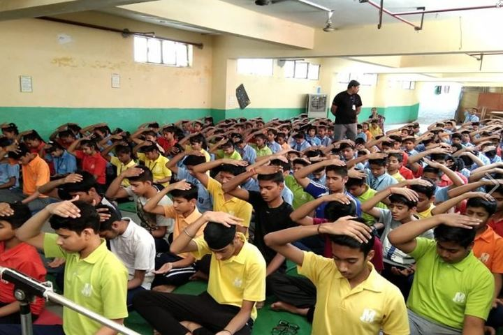 Modern School-Yoga Activity