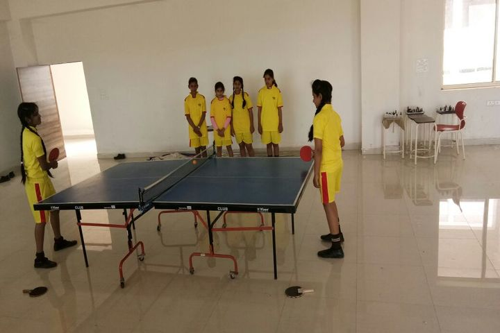Moon International Public School-Indoor games