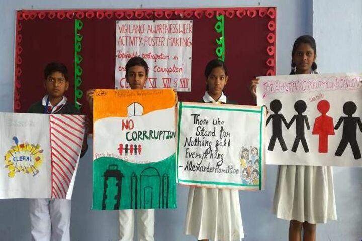 Mother Sita Public School-Poster Making