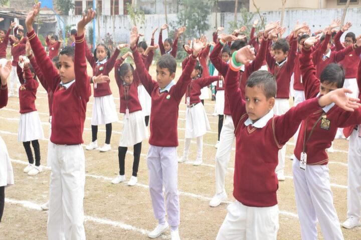 The Jaintpur Public School-Morning Assembly