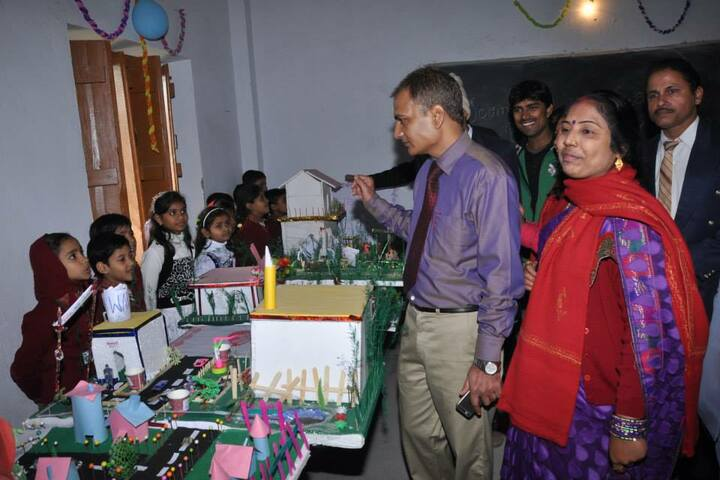 The Jaintpur Public School-Science Exhibition